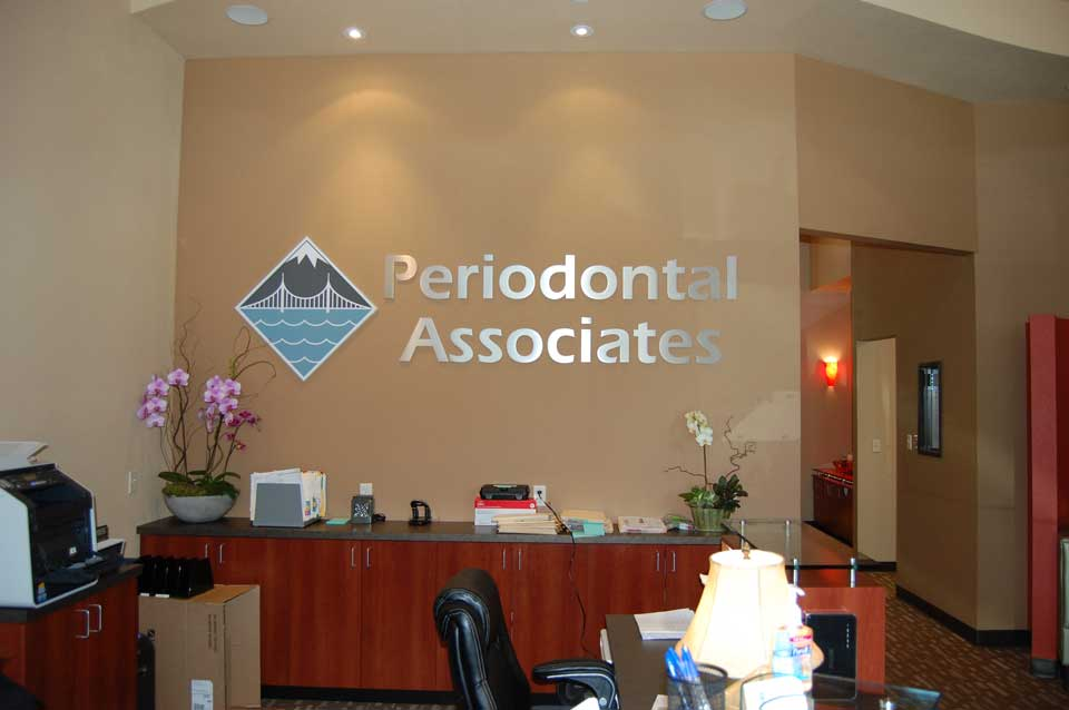 Front Office Reception area at Tualatin office of Periodontal Associates